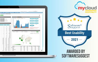mycloud PMS Wins Best Usability Award from SoftwareSuggest
